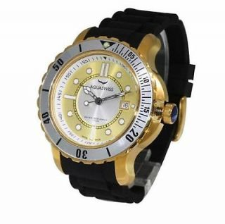 INVENTORY CLEARANCE AQUASWISS Watch Pink & White  Rose Gold Plating