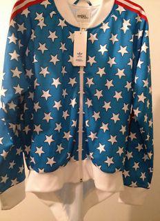 Adidas Jeremy Scott Tie Tails Track Top Stars JACKET SIze L FREE