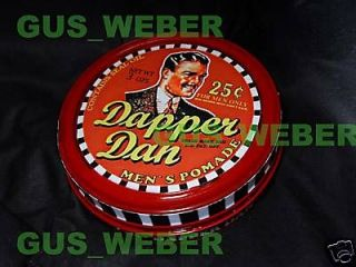 Dapper Dan Hair pomade prop Tin can