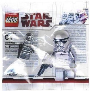 RARE LEGO STAR WARS CHROME STORMTROOPER MINIFIG *BRAND NEW/SEALED*