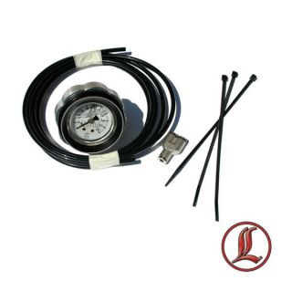 LEGEND AIR SUSPENSION DASH GAUGE KIT HARLEY WHI​TE FACE