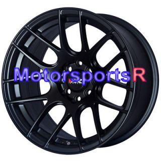 XXR 530 Flat Black Wheels Rims Concave 4x114.3 4x4.5 Stance Datsun 510