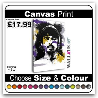 WALLRUS ART]   Dave Grohl Foo Fighters Music Icon   CELEBRITIES
