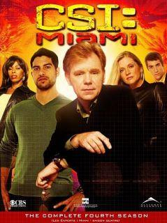 CSI Miami   The Complete Fourth Season DVD, 2006, Canadian