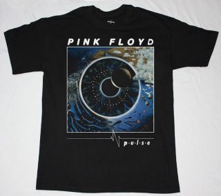 PINK FLOYD PULSE ROGER WATERS GILMOUR PROGRESSIVE ROCK S XXL NEW BLACK