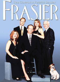 Frasier   The Complete Fourth Season DVD, 2005, 4 Disc Set