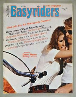 12) ISSSUE LOT OF EASYRIDERS MAGAZINES FROM 1984