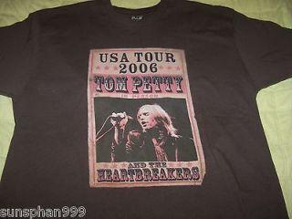 TOM PETTY & THE HEARTBREAKERS CONCERT TOUR T Shirt SIZE L