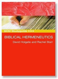 Newly listed Biblical Hermeneutics Book  David Holgate Rachel Starr