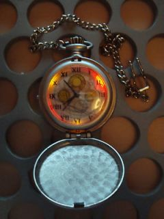 10TH ELECTRONIC FOB POCKET WATCH LIGHT SOUND SFX DAVID TENNANT TOY