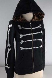 Abbey Dawn Black Bone Dance Hoodie Junior 3846