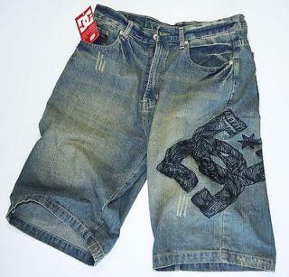 Brand New Dc Shoes Denim mens jean shorts size W34