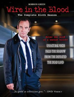 Wire in the Blood   The Complete Sixth Season DVD, 2009, 4 Disc Set