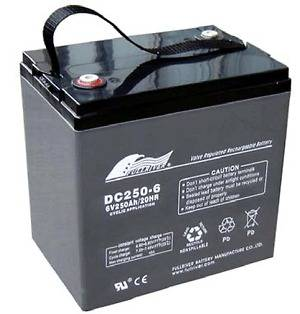 Full River AGM 6 Volt Deep Cycle Golf Cart Battery