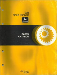 john deere snowblower parts in Home & Garden