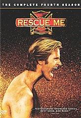 Rescue Me   The Complete Fourth Season DVD, 2008, 4 Disc Set