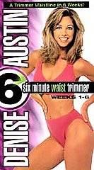Denise Austin   6 Minute Waist Trimmer Weeks 1 6 VHS, 1999