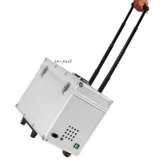 New Dental Portable Dental Unit Metal Mobile Case 4 holes 110V