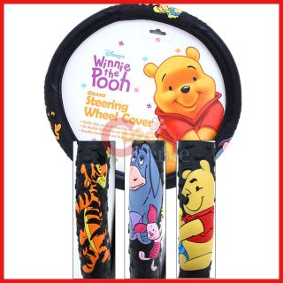 The Pooh and Friends Auto Car Steering Wheel Cover Tigger Eeyore