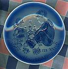 Desiree Plate Svend Jensen of Denmark 1980 Mothers Day 11th Edition