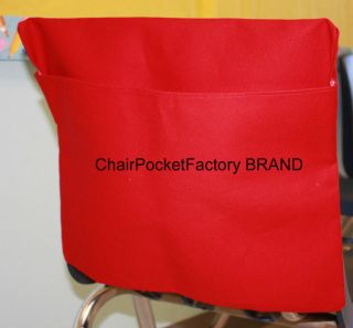 SET OF 4 Chair Pocket ~Seat Desk Sack *MEDIUM Washable