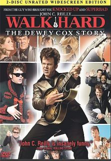 Walk Hard The Dewey Cox Story DVD, 2008, 2 Disc Set, Unrated Version