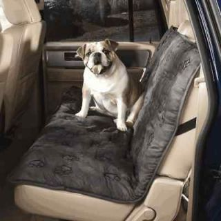 Guardian Gear GRAY PAWPRINT Pet Dog Car Seat Cover ~NEW