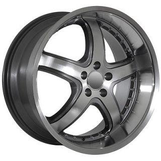 Mercedes Benz wheels rims fit S E 2009 CL CLS Machined S550 Deep Dish