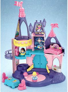 Little People DISNEY PRINCESS SONGS PALACE Castle Fisher Price NEW