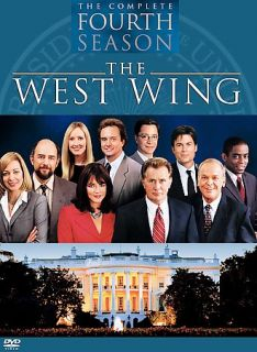 The West Wing   The Complete Fourth Season DVD, 6 Disc Set