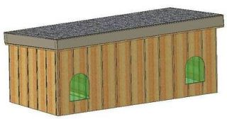 DOG HOUSE PLANS, 15 TOTAL, MULTIPLE DOGS IN ONE HOUSE DOG KENNELS