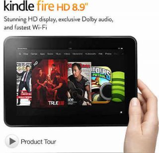 Kindle Fire HD 8.9 Tablet Wi Fi Dolby Audio Dual Band Antenna   16 GB