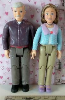 Fisher Price Loving Family Dollhouse GRANDMA & GRANDPA SET (2012