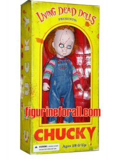 Living Dead Dolls Presents CHILDS PLAY CHUCKY 10 DOLL Mezco Toyz