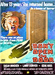 Dont Open the Door DVD, 2002