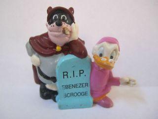 Disney Ebenezer Scrooge McDuck Ghost Beagle Boy Christmas Carol PVC