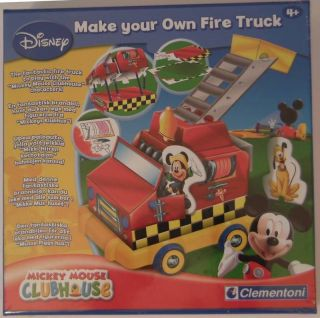 Disney Mickey Mouse Clubhouse Build Your Fire Truck