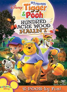 My Friends Tigger & Pooh Hundred Acre Wood Haunt (DVD, 2008