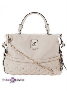Kim Kardashian Kollection Dorothy Perkins Beige Stud Small Quilted