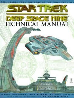 Star Trek Deep Space Nine Technical Manual by Doug Drexler, Herman