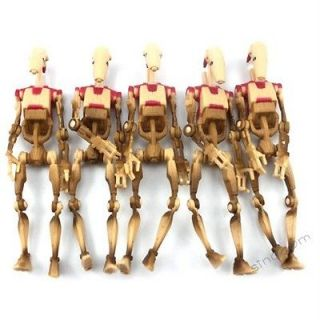 Wars Battle Droid Security Power Of The Jedi POTJ Action Figure SU72