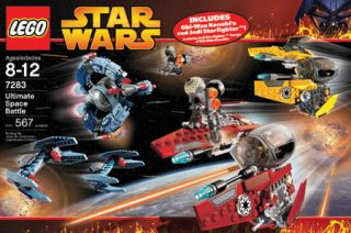 Lego Star Wars 7283 Ultimate Space Battle New Sealed Super Rare