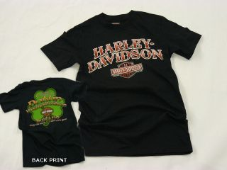Dublin Harley Davidson Irish Profound Legend Mens T shirt