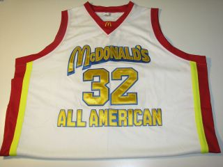 McDonalds All American Lebron James #32 Basketball Game Jersey sz
