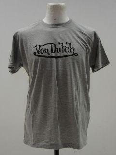 Von Dutch Grey T Shirt   BNWT   RRP £40.00