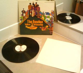 THE BEATLES   YELLOW SUBMARINE  VINYL ALBUM   SW153 STEREO