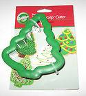 NEW Wilton Christmas Tree Comfort Grip Cookie Cutter