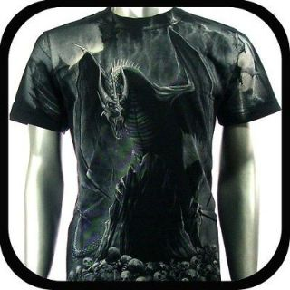 Rock Eagle T Shirt Limited Edition Dragon Biker Sz M L Rider Tattoo