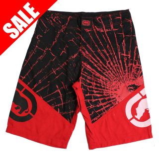 ECKO UNLTD MMA UFC Broken Short   Black / Red RRP £45