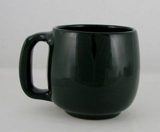 Frankoma Pottery Soup Cup, Forest Green , Post 1994 Production, 24